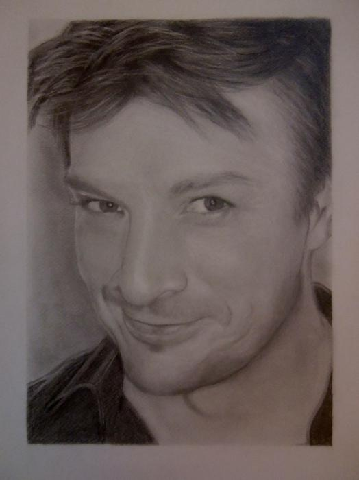 Nathan Fillion by mirrabel